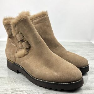 Franco Sarto Crystal Boots